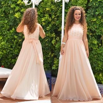 Vestido Rosa Margaritas