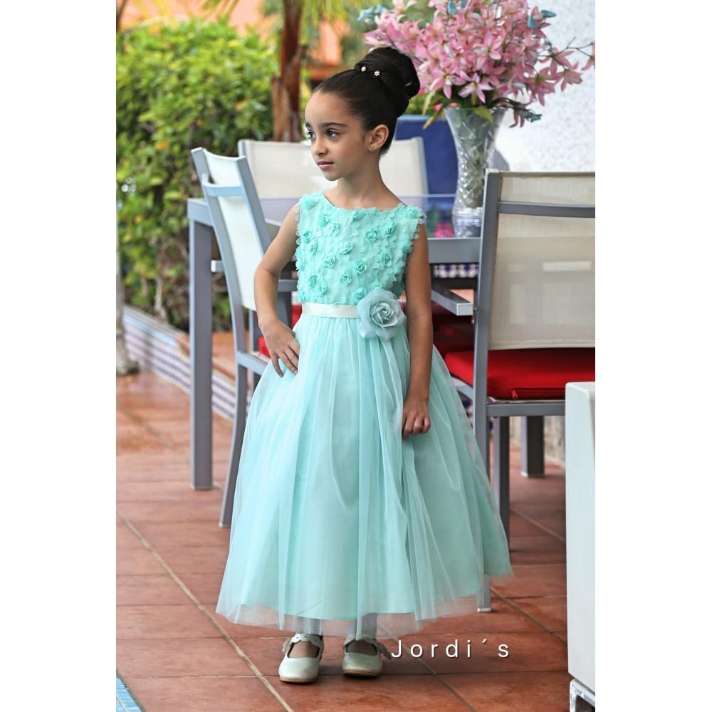 Vestido niña Relieve