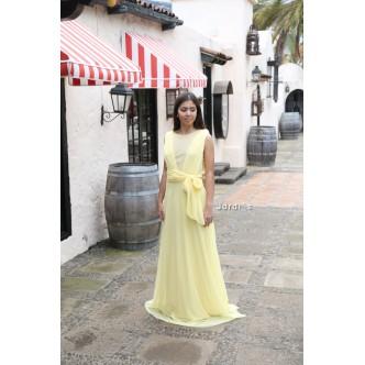 Vestido Amarillo Tul