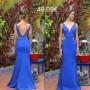 Vestido Azul Transparencias
